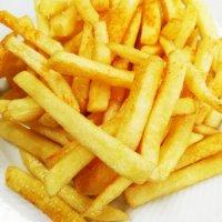 Große Pommes frites