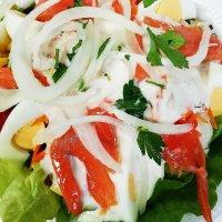 Lachs Salat