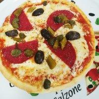 12 Pizza Diavolo Groß