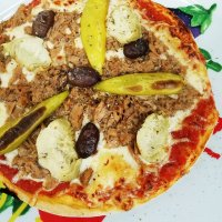 15 Pizza Orientale Groß